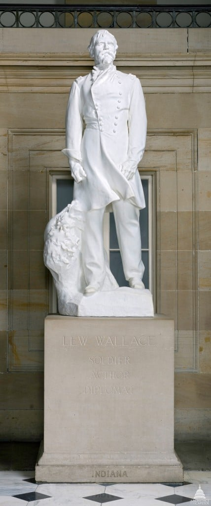 statue of Lew Wallace, image courtesy of Architect of the Capitol